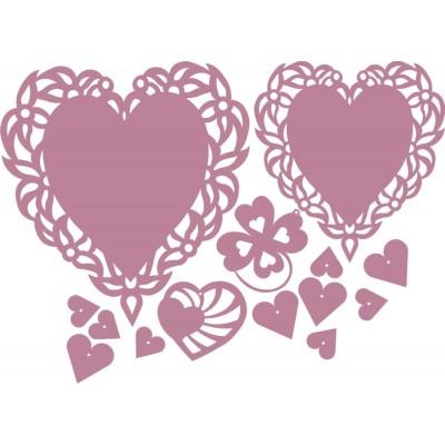 Filcowe ozdoby Walentynkowe SW5